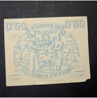 España - 50 céntimos de Murcia de 1937