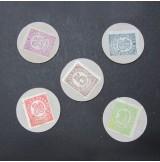 España - Serie de cartón moneda de Málaga 1936
