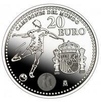 España - 20 euros de plata de 2010 (Campeones del Mundo)