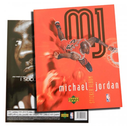 Álbum de cromos de Michael Jordan 1998 COMPLETO