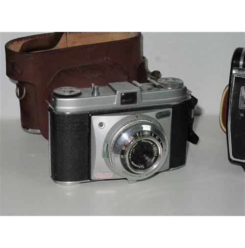 Cámara de fotos Kodak Retinette con Flash Agfalux