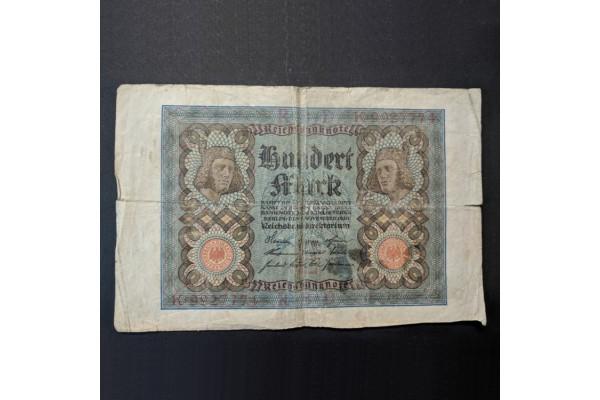 Alemania - 100 Marcos 1920
