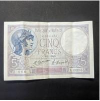 Francia - 5 Francos 1924C