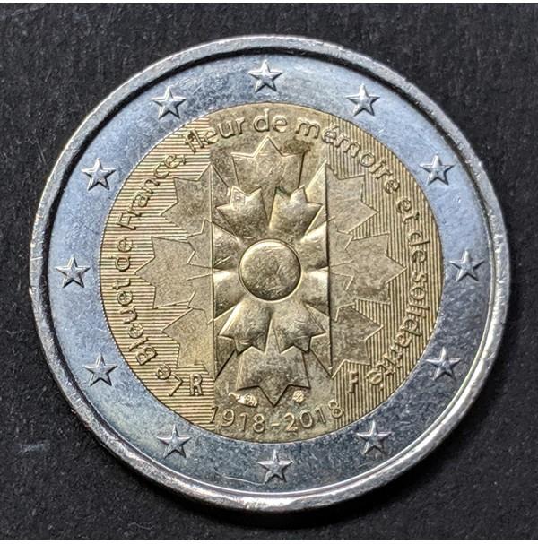 Francia - 2 euros conmemorativos  2018 El Aciano