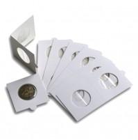 Paquete de 100 cartones para monedas 22 mm