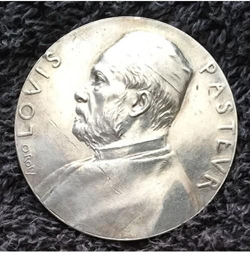 Francia - Medalla de plata Instituto Louis Pasteur 1888