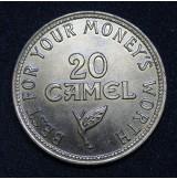 Medalla publicitaria de CAMEL - 1899