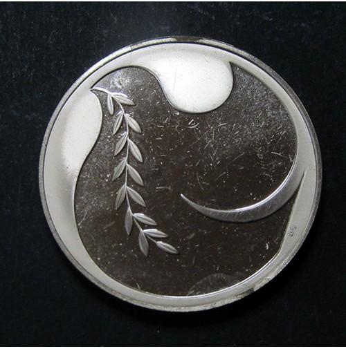 "Medalla de 1983 de cobre ""Peace on Earth Goodwill to Men"""
