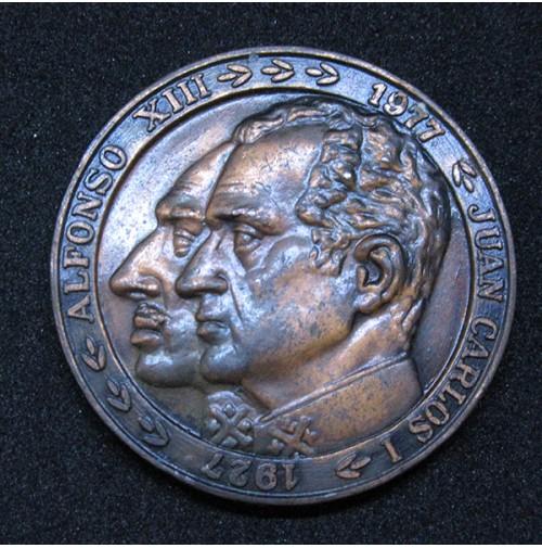 España - Medalla conmemorativa del 50 aniversario de Iberia - 1977