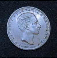 España - Medalla publicitaria de cobre La Isla De Cuba Joyeria Plateria Y Relojeria (Barcelona)