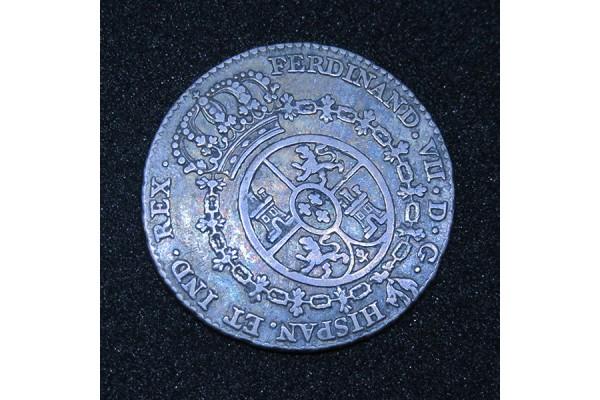 España - Medalla de plata Proclamación de Fernando VII 1808