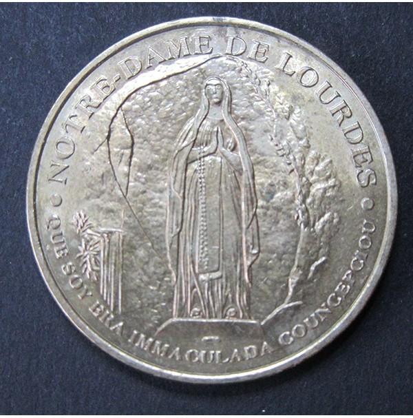 Francia - Medalla de Nuestra Señora de Lourdes del año 2000