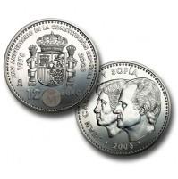 España - 12 euros 2003 Plata - Constitución Española