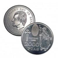 España - 2000 Pesetas 1999 Xacobeo