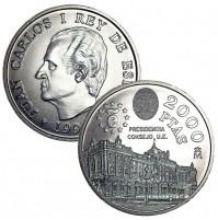 España - 2000 Pesetas 1995 Palacio Real