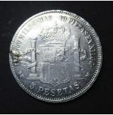 España - 5 Pesetas 1871 - Amadeo I