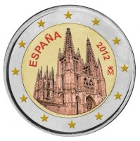 España - 2 Euros Coloreada - Altamira