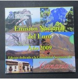 España - Emisión nacional del euro 2009 - Canarias
