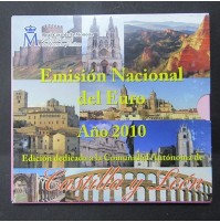 España - Emisión nacional del euro 2010 - Castilla y León