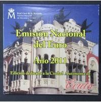 España - Emisión nacional del euro 2011- Ceuta