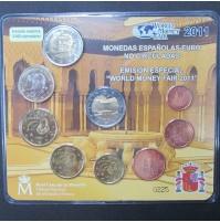 """España - Monedas Españolas euro no circuladas 2011 - Emisión Especial """"World Money Fair 2011"""""""