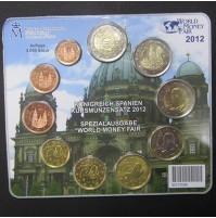 """España - Monedas Españolas euro no circuladas 2012 - Emisión Especial """"World Money Fair 2012"""""""