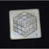 Hungría - 500 Forint 2002 - Cubo de Rubik