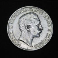 Prusia - 5 Marcos 1900 - Guillermo II