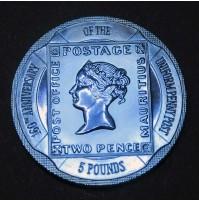 Gibraltar - 5 Libras 2000 - Uniform Penny Post