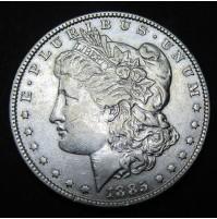 Estados Unidos (EE.UU.) - 1 Dólar 1885 Plata