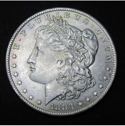 Estados Unidos (EE.UU.) - 1 Dólar 1883-0 Plata