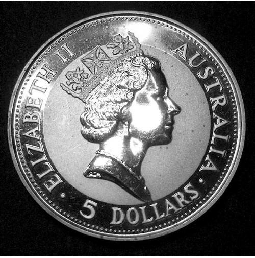 Australia - 5 Dólares de Plata 1991
