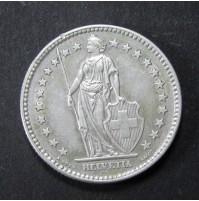 Suiza - Lote de monedas de 1/2, 1 y 2 Francos de Plata