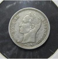 Venezuela - 50 centavos de 1960 de plata