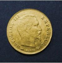 Francia - 5 Francos de oro 1859  Napoleón III
