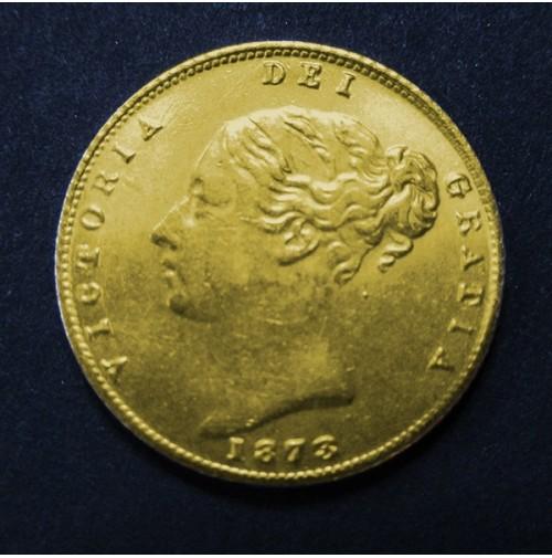 Reino Unido - 1/2 Soberano de oro 1873 Victoria