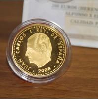 España - 200 euros de ORO 2008 - Alfonso X