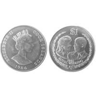Islas Cook - 1 Dólar de Plata 1986