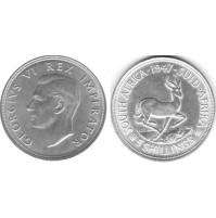 Sudáfrica - 5 Chelines (Shillings) 1947