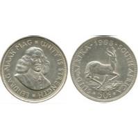 Sudáfrica - 50 centavos 1963 - Plata