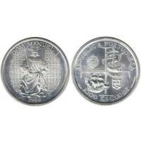 Portugal - 1000 Escudos Plata 1998