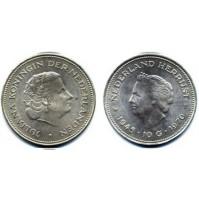 Holanda - 10 Gulden (Florines) de Plata de 1970