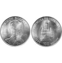 Venezuela - 100 Bolivares de Plata 1980