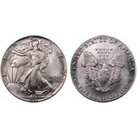 Estados Unidos (USA) - 1 Onza de plata pura (0.999) de 1987