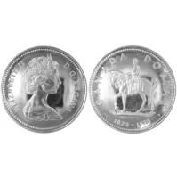 Canadá - 1 Dólar de 1973 de Plata