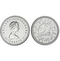 Canadá - 1 Dólar de 1978 de Plata