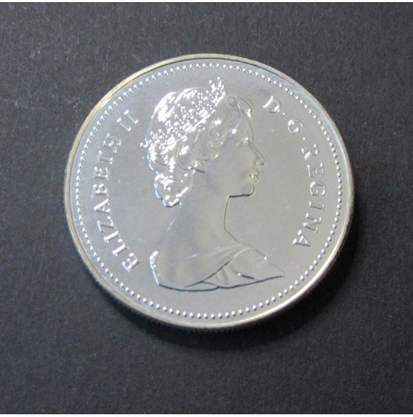 Canadá - 1  Dólar de Plata 1988