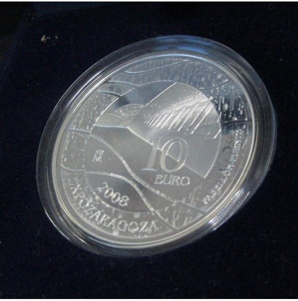 España - 10 euros 2008 - Expo Zaragoza