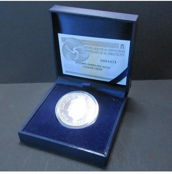 España - 10 euros 2007 - Expo Zaragoza. Torre del Agua