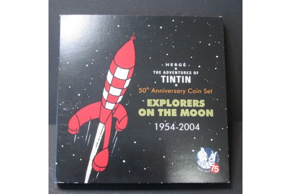 "50 Aniversario de Tintín ""Explorer on the Moon"" 1954 - 2004"